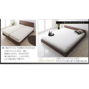 クイーンサイズベッド マットレス付き ベッド スタンダードボンネルコイル クイーン|woodliving|15