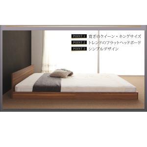 クイーンサイズベッド マットレス付き ベッド スタンダードボンネルコイル クイーン|woodliving|03