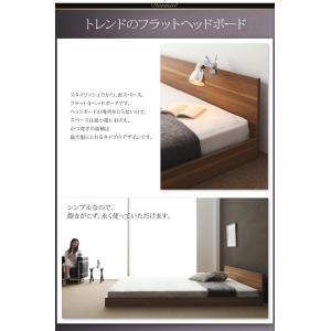 クイーンサイズベッド マットレス付き ベッド スタンダードボンネルコイル クイーン|woodliving|06