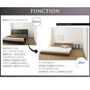 クイーンサイズベッド マットレス付き ベッド スタンダードボンネルコイル クイーン|woodliving|07