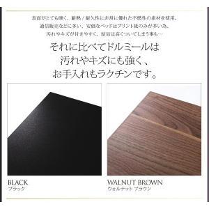 クイーンサイズベッド マットレス付き ベッド スタンダードボンネルコイル クイーン|woodliving|10