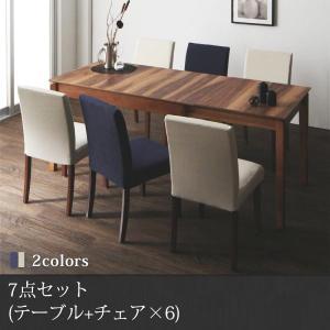 ダイニングテーブルセット 6人掛け おしゃれ 天然木ウォール...