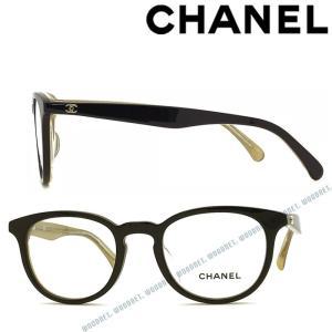 f48db4502c47 CHANEL シャネル メガネフレーム 眼鏡 ブラック×クリア×ゴールド 0CH-3364A-1609