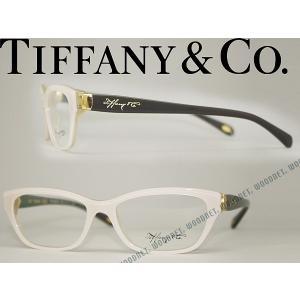 Tiffany & Co. ティファニー メガネフレーム 0TF-2114-8170 ホワイトパール×クリア