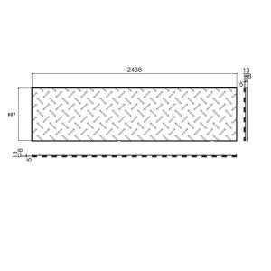 敷板 農業用 ディバン24サイズ(607×1220×13mm)|woodplastic|04