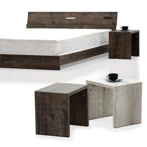 ナイトテーブル サイドテーブル ベッドサイドテーブル ローテーブル スリム おしゃれ 北欧  木製 ...