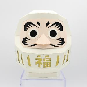 達磨 白 KAKUKAKU M|woodwarlock