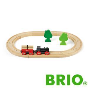 BRIO木製レールセット 小さな森の基本レールセット|woodwarlock