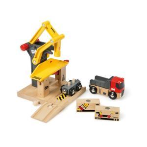 貨物ステーション BRIO レールパーツ 33280|woodwarlock