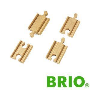 BRIOレールパーツ 直線レール54mm|woodwarlock