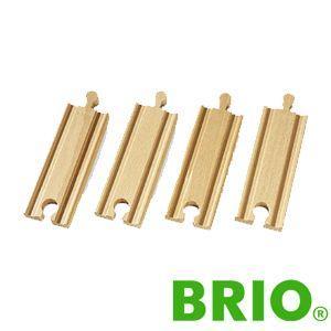BRIOレールパーツ 直線レール108mm|woodwarlock