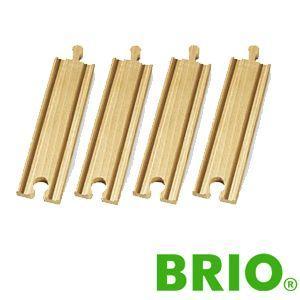 BRIOレールパーツ 直線レール144mm|woodwarlock