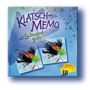 ドイツ ハバ(HABA)社カードゲーム カラスのメモリー(KLATSCH-MEMO)|woodwarlock