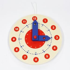ごっこ遊び用 壁掛け時計 ラーンクロック|woodwarlock