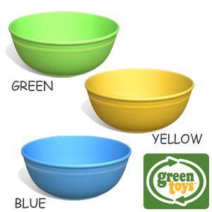 green toys ボウル2個セット グリーントイズ社|woodwarlock