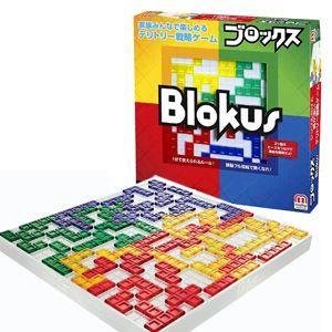 ブロックスは、フランス生まれのシンプルな陣取りゲームです。ピースを角で接するように置いていき、手持ち...