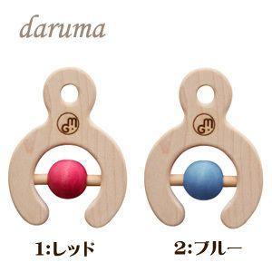 【割引クーポン配布中】 マストロジェッペットのラトル DARUMA(ダルマ)COLOR|woodwarlock