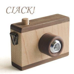 マストロジェッペットのキッズカメラ CIACK!(チャック!)|woodwarlock