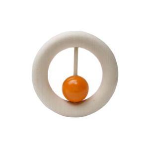 ネフ社(naef) おしゃぶりカウリング橙|woodwarlock