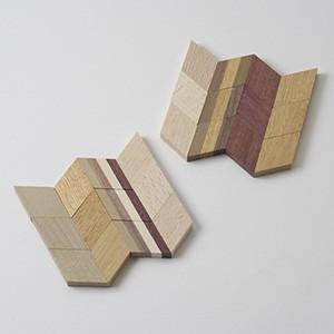 寄木コースター キット|woodwarlock