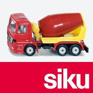 SIKU(ジク) メルセデス・ベンツ セメントミキサートラック woodwarlock