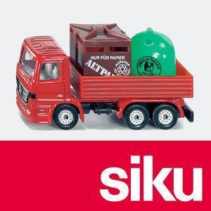 SIKU(ジク) メルセデス・ベンツ リサイクル品回収トラック woodwarlock