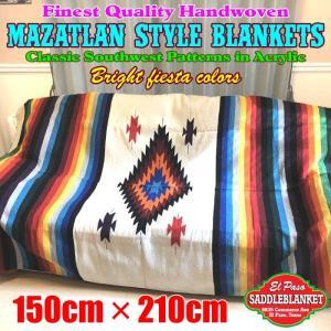 ★ネイティブアメリカンに伝わる伝統のデザインを再現した、メキシカンブライトフィエスターカラーがオシャ...