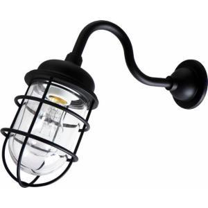 [新商品] 松本船舶 マリンランプ 2号アクラライトブラック LED電球装着モデル (R2‐AQ‐B) woody-koubou