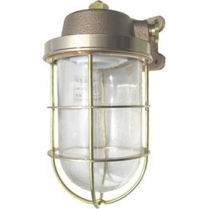 松本船舶 マリンランプ 2号ブラケット ゴールド LED球付(R2-BR-G)|woody-koubou