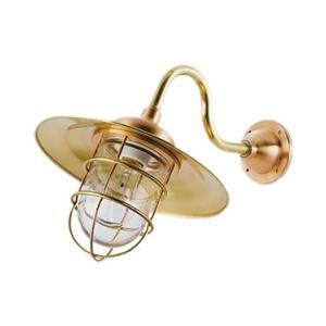 松本船舶 マリンランプ 2S号アクアライト ゴールド LED球付(R2S-AQ-G)|woody-koubou