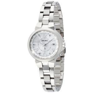 [ルキア]LUKIA 腕時計 ソーラー電波 チタンモデル サファイアガラス スーパークリアコーティング 10気圧防水 SSQV001 レディース woody-terrace