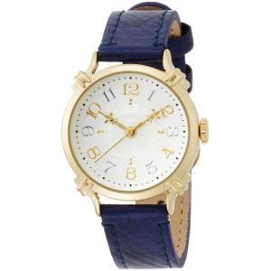 [フィールドワーク]Fieldwork 腕時計 ファッションウォッチ nattito キッシュ 革ベルト ネイビー FSC109-3 レディース woody-terrace
