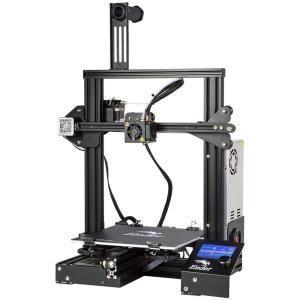 【Creality 3D】 Ender-3 3Dプリンター【工場直販】 半成品DIY キット 超高精度印刷 停電回復機能 MK-8押出機 最大印刷サイズ 220 * 220 * 250mm 日本語組立取扱 woody-terrace