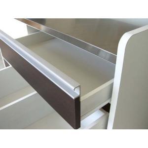 キッチンカウンター キッチン収納 完成品  約幅120cm キャスター付き|woodylife|04