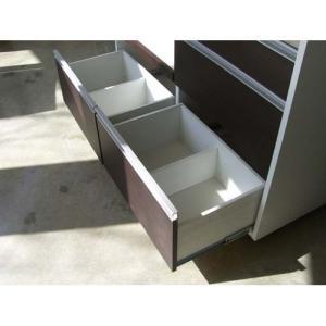 キッチンカウンター キッチン収納 完成品  約幅120cm キャスター付き|woodylife|05