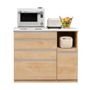 キッチンカウンター 完成品 幅120cm ナチュラル 木製
