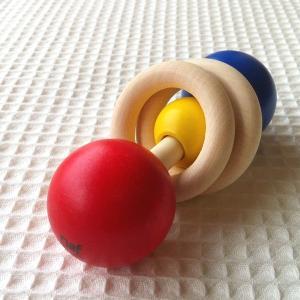 ネフ社 デュオ naef 木のおもちゃ がらがら ラトル ネフ