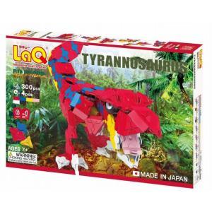ラキュー ダイナソーワールド ティラノサウルス 恐竜  LaQ 知育玩具 知育ブロック