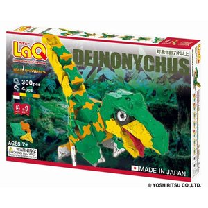 ラキュー 恐竜 ダイナソーワールド デイノニクス LaQ 知育玩具 知育ブロック 男の子 女の子 か...