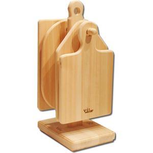 小さなまな板セット<日光ひのき>|woodystoreak