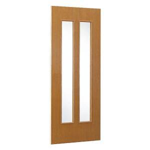室内ドア(規格サイズ)/引き戸/2枚ガラス woodystoreak
