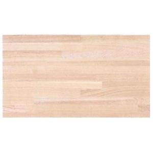 タモ集成材カウンター(無塗装) 長さ3000mm×幅360mm×厚さ30mm|woodystoreak