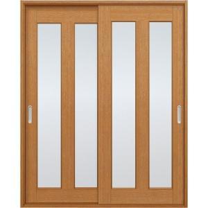 ユニットドア(扉・枠セット)/引違い戸/2枚ガラス|woodystoreak