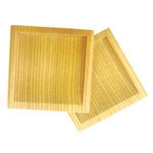 ふすま用角引き手(木製)2個セット|woodystoreak