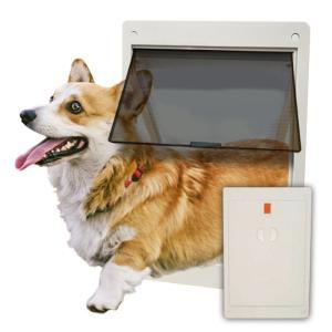 ペットドア(アイボリー)/犬用・猫用【送料無料】|woodystoreak