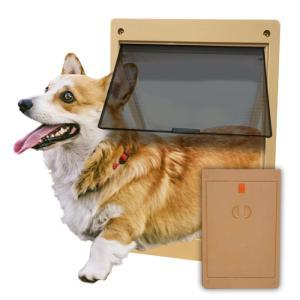 ペットドア(ブラウン)/犬用・猫用【送料無料】|woodystoreak