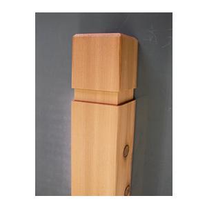 ラティス/支柱/90mm角/長さ1.2M|woodystoreak