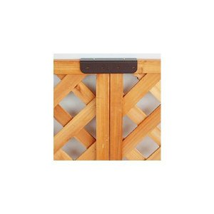 ラティス固定金具/連結用/2個入り|woodystoreak
