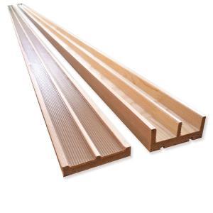 リフォーム用鴨居・敷居セット(W57)長さ1820mm|woodystoreak