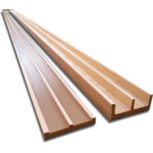 リフォーム用鴨居・敷居セット(W75)長さ1820mm|woodystoreak